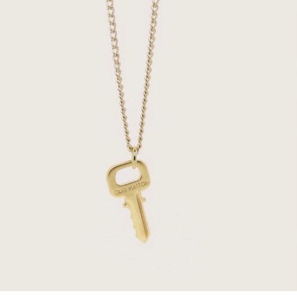 77c73dba39de1 Authentic Louis Vuitton Mini Key Charm & Necklace